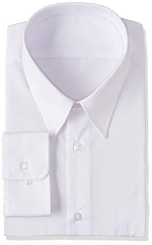 [セシール] 長袖スクールシャツ 形態安定 制服 学生服 Yシャツ 男子 ホワイト 180