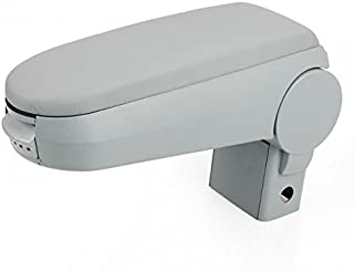 New Gray Leatherette Center Console Armrest Storage Box Set For 1999-2004 VW Golf/Jetta/Bora Mk4 GTI