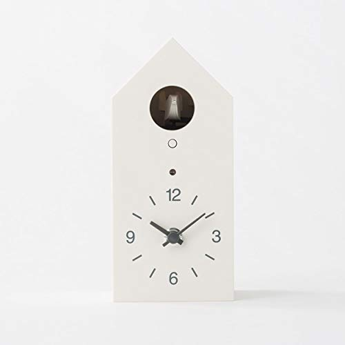Muji Reloj De Cuco, Blanco