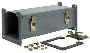 SCHNEIDER ELECTRIC Wireway 12 X 12 - N1 Paint - 3 Ft Lg LDB123 Altivar 61 Drive 75 Hp 575/690 Volt