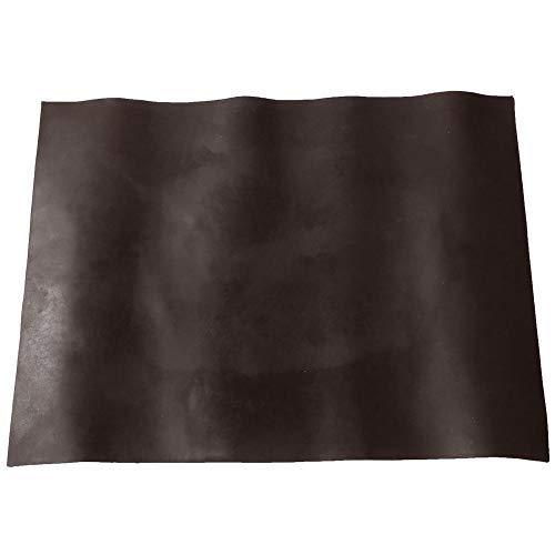 HEEPDD Gummisohle Pad Verschleißfeste Anti-Rutsch-Schuhe Unterseite Reparaturmaterial für Frauen Männer Schuhe 15,24 x 21,06 in x 0,08 in(Braun)