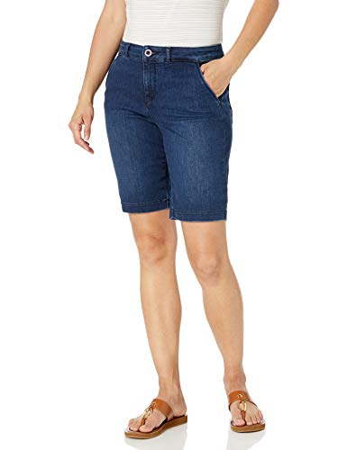 NYDJ Women's Petite Size Bermuda Short, Cooper, 4P