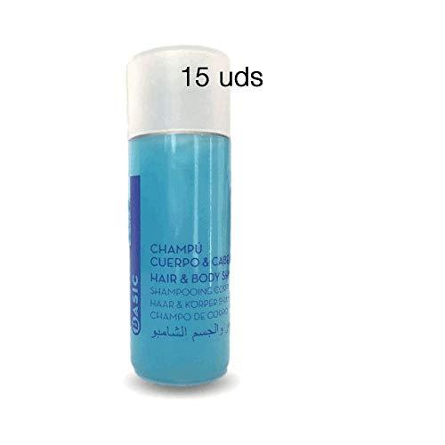 Pack 150 tubos de Gel & Champú BASIC de 30 ml