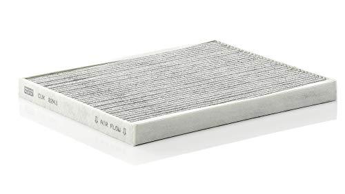Original MANN-FILTER Innenraumfilter CUK 2243 – Pollenfilter mit Aktivkohle – Für PKW