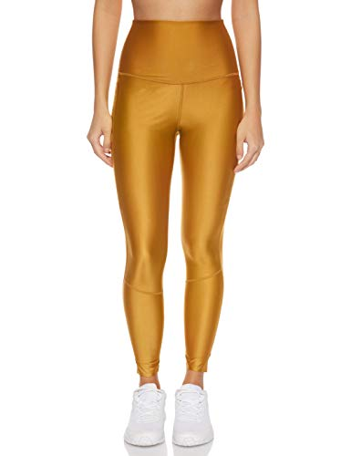 Nike Damen W NK TR TCH PCK HR Tights, Wheat/Black, XL