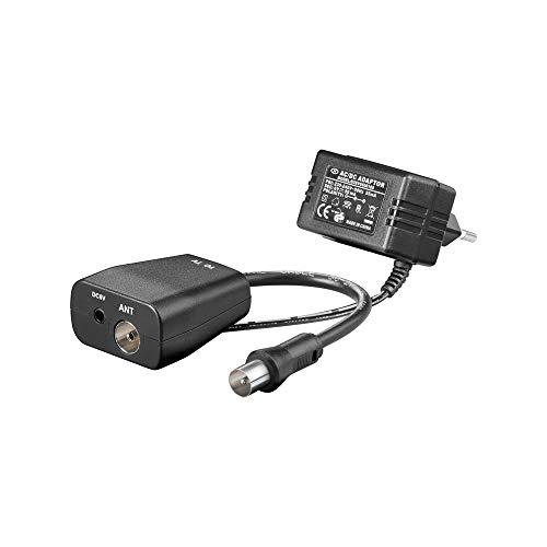 Goobay 67245 Zum Anschluss von aktiven DVB-T Antennen. Spannungseinspeiseadapter inkl. Netzadapter. Ausgangsspannung 6 V DC.