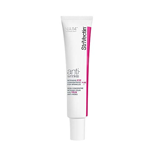 StriVectin Anti-Wrinkle Intensive Eye Cream Concentrate for Wrinkles PLUS, Targets Crow's Feet, Firmness, Puffiness & Dark Circles, 1 Fl oz