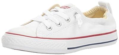 Converse Girls' Chuck Taylor All Star Shoreline Sneaker, White, 12 M US Little Kid