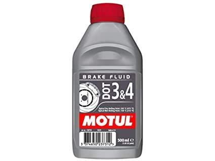 Líquido de freno MOTUL DOT-4 de 500ml.