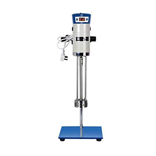 +UXI Laboratory High Speed Dispersing Homogenizer Emulsifier Capacity 40L 200-11000r/min 510W Digital Display Blender for Cosmetics 220v (220V)