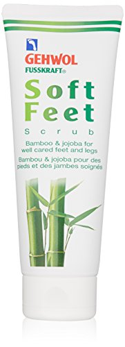 Gehwol Soft Feet Scrub Peeling Bamboo and Jojoba 125ml 4.4 oz by Gehwol