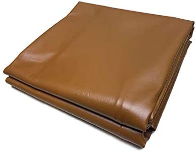 Natural Wood Billiards Snooker Table Cover Protector Smooth Brown CraftMaster Fitted Leatherette Pool Table Cover 7 /& 9 Foot Available Black Red