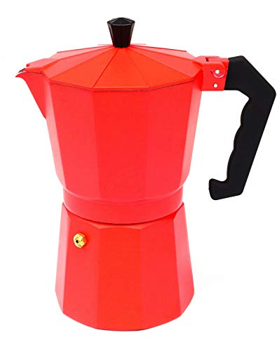Espressokocher Espresso Moka Maker für 3 oder 9 Tassen Espressomaschine viele Farben