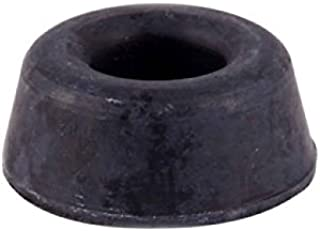 Bulk Hardware BH02007 Rubber Toilet Seat or Furniture Buffers 22mm (7/8 inch) - Black, Pack of 4