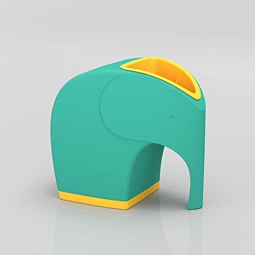 小物入れ 卓上 おしゃれ プラスチック 引き出し 収納 インテリア ペン立て デスクオーガナイザー リモコン かわいい赤ちゃん象収納ボックス 漫画の見た目はとてもかわいいです
