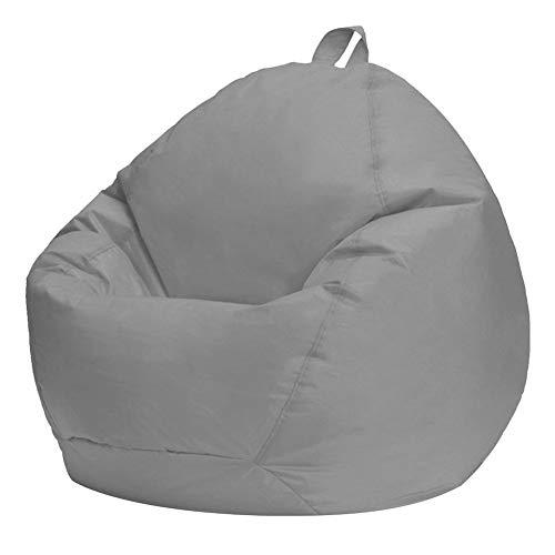 KOET Sitzsack-Überzug, Sofa-Tasche, Schutzausrüstung, weiches hochwertiges Oxford-Gewebe, ohne Füllung.