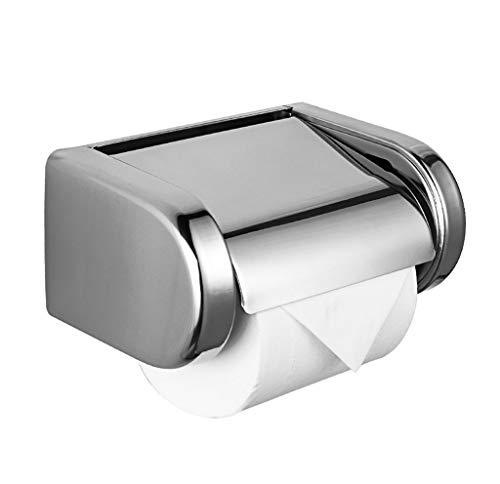 Abgedeckter Toilettenpapierrollenhalter Edelstahl Wasserdicht Für Wandeinbau Modernes Design Nicht Rost Badezimmer Toilettenpapierhalter Wandmontage