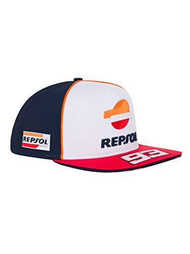 Repsol Gorra Plana Oficial MotoGP Dual MM93