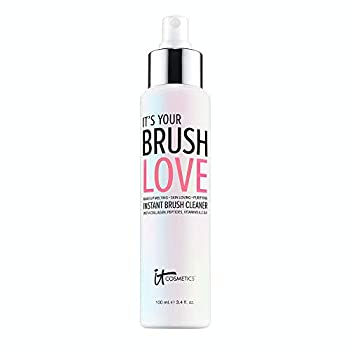 IT Cosmetics IT's Your Brush Love - Instant Makeup Brush Cleaner & Conditioner - With Hydrolyzed Collagen Peptides Antioxidants & Vitamins - Alcohol-Free Formula - 3.4 fl oz
