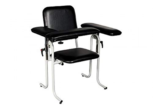 Dukal Black Lab Drawing Chair with Padded Seat 38