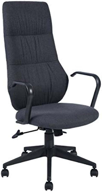 Home Office Chair Ergonomic High-Back, Deep Grey