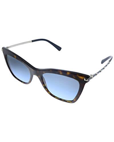 Valentino Gafas de Sol Rockstud VA 4061 Havana/Blue Shaded Mujer