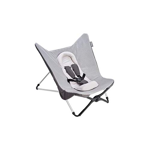 BÉABA - Tumbona para bebé compacta gris gris