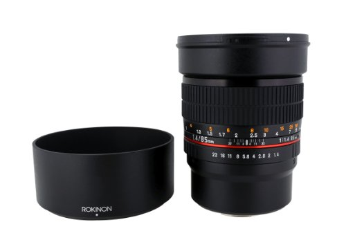 Rokinon 85M-MFT 85mm F1.4 Ultra Wide Lens for Micro Four-Thirds Mount Fixed Lens for Olympus/Panasonic Micro 4/3 Cameras
