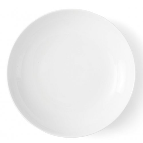Assiette calotte 22 cm Gaillarde en porcelaine