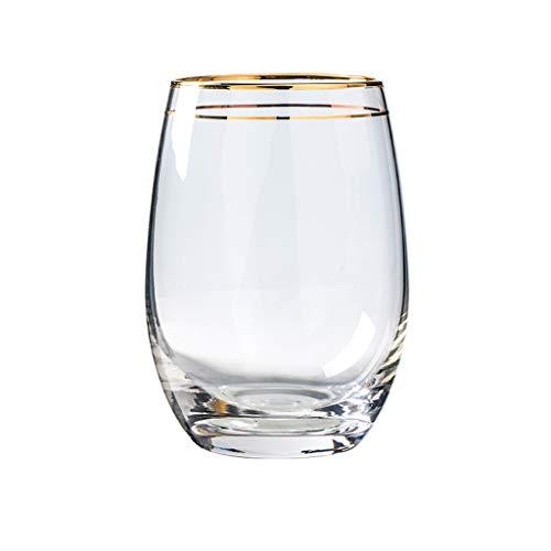 LRW Creatief glazen huishouden Juice Cup Glazen melkschaal, drinkbeker, koud drankbeker