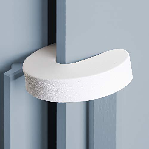 Fermaporta sicurezza per bambini, per porte e finestre, per proteggere le dita dei bambini, salvadita, in gommapiuma (6 pezzi)