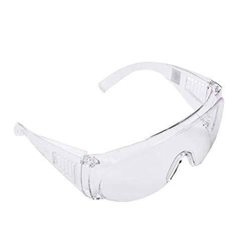 Skxinn Erwachsene Schutzbrille mit klarer, Wind- und staubdichter, beschlagfreier, sabbersicherer Schutzbrille Sportbrille für Erwachsene im Freien