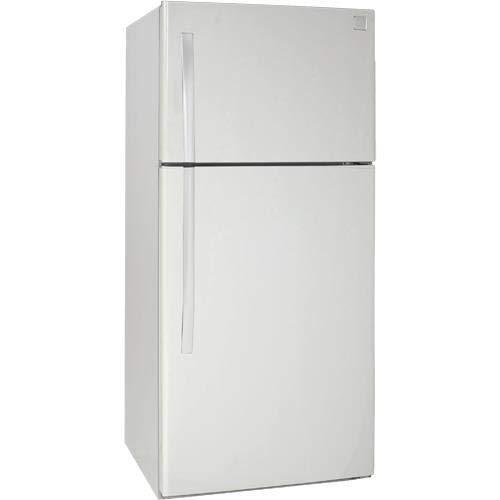 Avanti FF18D0W 18 Cu Ft Frost Free Top Freezer Refrigerator White