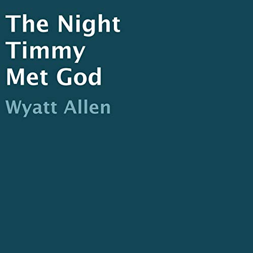 The Night Timmy Met God audiobook cover art