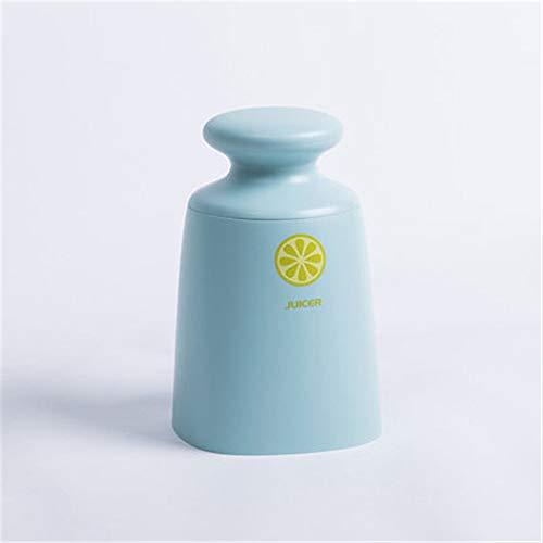 LLDKA Eenvoudige draagbare kop sinaasappelsap handmatige sapcentrifuge kleine huishoudelijke squeezer fruitsapcentrifuge oranje citroen