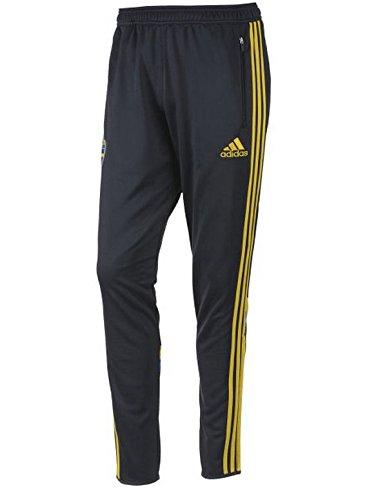Adidas Zweden joggingbroek (maat 152) D83803 blauw SVENSKA SVFF TRG PNT Y