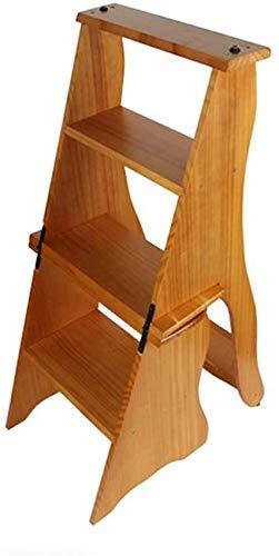 Haushaltsprodukte Stühle Sitze Hintertreppe 4-stöckiger Hocker Klappregalhöhe 86...