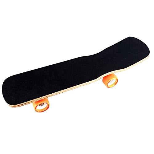 Prokick Wooden Skateboard with Anti Skid Surface - Senior Wooden Black