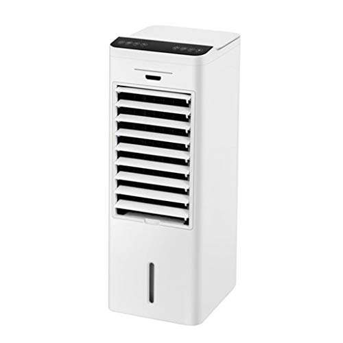Ventiladores de torre Ventilador De Refrigeración, Humidificador, Aire Acondicionado, Frío Y Calor De Doble Uso, Pequeño Dormitorio Residencial Móvil ( Color : Blanco , Size : 23*30.5*71cm )