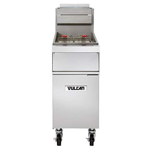 Vulcan - 1GR45A - 45 lb Natural Gas Fryer