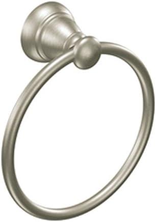 Moen Y2686BN Banbury Towel Ring,  Brushed Nickel