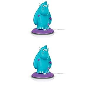Philips Disney Monsters Inc. Sulley Kid Portable Nightlight Friend (2 Pack)