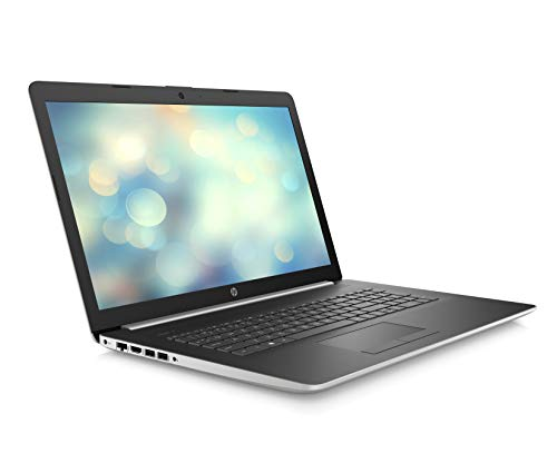 HP 17-by0031na 17.3-Inch HD+ Laptop, Intel Pentium Gold 4417U, 4 GB RAM, 1 TB HDD, Windows 10 Home - Silver