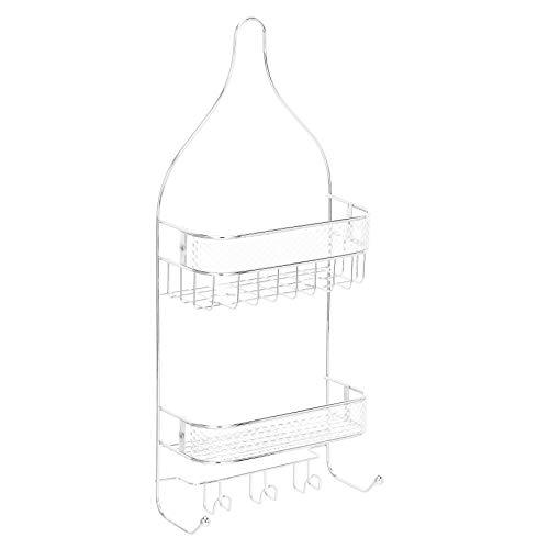 Amazon Basics - Estantería de ducha tipo cestillo