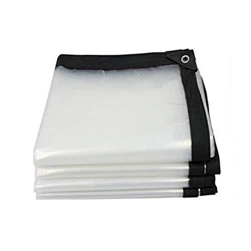 QI-CHE-YI Wasserdicht Dicker Kunststoff Polyethylen Tarps, Multi-Purpose-Plane für Dach Camping Balkon, Regen, Plastikblatt, Außenvorzelt,5x8m