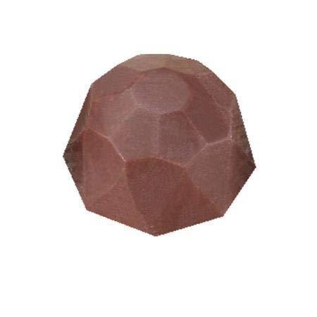 チョコレート型martellato【MA1521 ドーム ダイヤカット2.8cm】ポリカーボネイト製(ハードプラスチック)ボンボンショコラ型抜きマルテラート社製