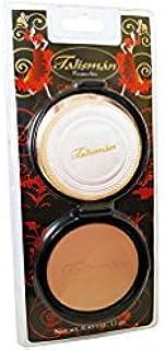 (Oscuro) - Talisman Cream Powder Natural .1330ml With Mirror-Polvo Crema Compacto Con Espej (Oscuro)