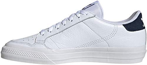 Adidas Continental Vulc White White Navy 42.5