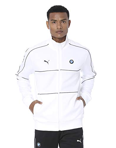 PUMA BMW M Motorsport T7 Herren Trainingsjacke Puma White S