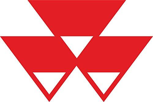 myrockshirt Massey Ferguson Sponsor XXL Logo ca. 50cm Aufkleber,Sticker,Decal,Autoaufkleber,UV&Waschanlagenfest,Profi-Qualität,Wandtattoo